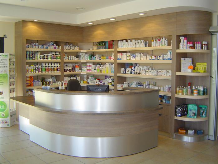Conception mobilier pour pharmacie